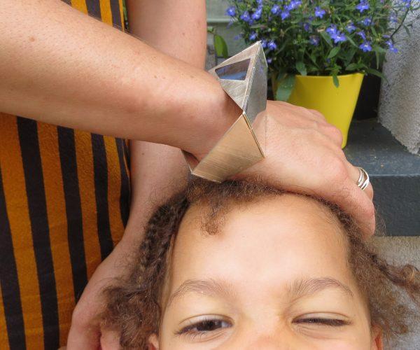 Bracelet-Collier Le reflet du papillon